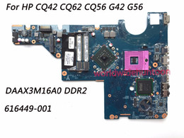 Hp Cq62 Laptop UK - Classy Quality Laptop Motherboard For HP CQ42 G42 CQ56 G56 CQ62 Motherboard 616449-001 PGA478 Chipset GL40 DDR2 Fully Tested