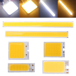 Strip Spotlights Canada - New 3W 4W 5.5W 6W White COB LED Strip Light Bulb Lamp Bead Warm Pure White DRL