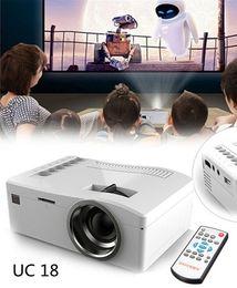 Großhandel Großhandels-Portable UNIC UC18 HD Videoprojektor 60 Zoll Mini-LED-Projektor-Heimkino-Theaterprojektor, USB / AV / TF / HDMI-Schnittstelle