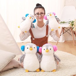 Discount children soft toys - 25cm 35cm Super Cute Penguin Toy Stuffed Soft Penguin Plush Toys Lovely Dolls for Girls Children Kids Gift