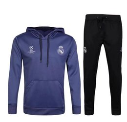 China 2016 Real Madrid tracksuits 16 17 RONALDO JAMES BALE RAMOS MODERIC best quality long sleeve tracksuit training jacket suppliers