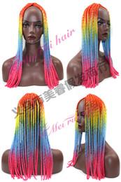 $enCountryForm.capitalKeyWord NZ - 2017 Nightclub essential Women 's wigs Black wig twist braids hollow pigtail hollow braids wig soft dread lock