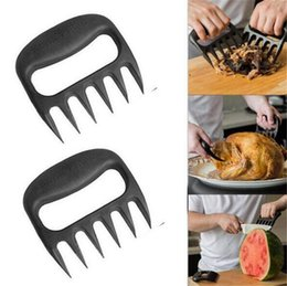 Wholesale Bear Paws Claws Meat Handler Forks Tongs Pull Shred Pork Roasting Fork BBQ Tools Barbecue Accessories