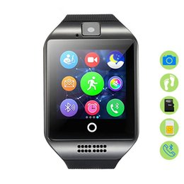 $enCountryForm.capitalKeyWord Australia - Q18 Smart Watch TF SIM Card Bluetooth Smartwatch Man Woman Adults Wrist Clock For IOS Android phone Pedometer Sleep Monitor