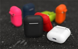 $enCountryForm.capitalKeyWord NZ - Airpods Case For Apple Airpods Soft Silicone Case Waterproof Shockproof Full Cover For iphone 7 Accessories Airpods Charging Box