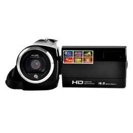 China Shockproof Digital Camera HD Camcorder Portable Digital Video Camcorder HD 720P 16 MP 2.4'' TFT LCD Screen 16x Zoom Camera Recorder cheap tft digital camera suppliers