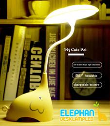 $enCountryForm.capitalKeyWord NZ - Kids LED Night Lights Children Room Lamp Baby Bedroom Lamparas Novelty Products Elephant Light Charging Battery Sensor Luminaria
