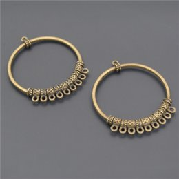 Chandelier findings online chandelier earrings findings for sale 5pcs wholesale antiqued style vintage bronze zinc alloy hollow out round chandelier jewelry pendants charms finding a2339 aloadofball Gallery