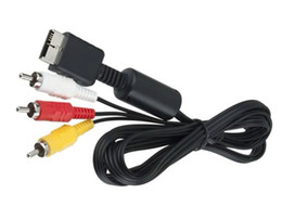 Factory Direct Audio Canada - Factory Direct 6 Feet 1.8M Audio Cable to RCA For sony PlayStation PS PS2 PS3 PS4 Video AV