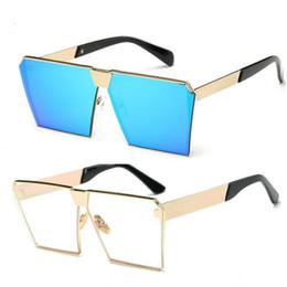 $enCountryForm.capitalKeyWord Canada - Designer Ladies Sunglasses Mens New Style Korean Square Sun Glasses For Men Women 2017 Shades Sunglasses Fashion Cat Eye Sunglasses Accessor