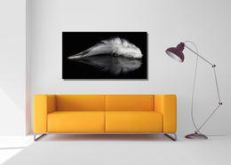 Elegant Frather Landscape Canvas Painting Home Decor Canvas Wall Art  Picture Digital Art Print For Living Room