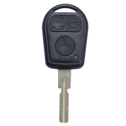 bmw e46 car key Canada - Guaranteed 100% 3Buttons Replacement Keyless Remote Fob Key Shell Key Case For BMW Car E31 E32 E34 E36 E38 E39 E46 Z3 Free Shipping