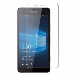 tempered glass mirrors UK - Top Quality 0.26mm 9H Tempered Glass For Nokia 1020 435 N830 N1520 N920 N930 N520 1320 950 950XL 550 Screen Protector Film 50pcs