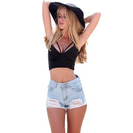8c66e510b9 Plus Size 2016 Summer Women Sexy Bralette Crop Top low cut tank tops  Sleeveless Backless Cropped feminino Camisoles for women