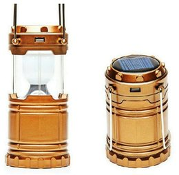 Chinese  IN stock ship Camping Portable Solar Lamp tent LED Flashlights Camping light Rechargeable Emergency use with USB sport Outdoor Lantern manufacturers