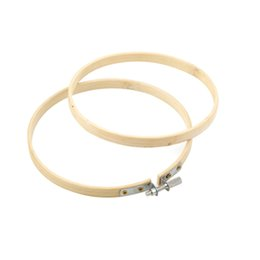 Chinese  Handy Wooden Cross Stitch Machine Embroidery Hoop Ring Bamboo Sewing 13-28.5cm manufacturers