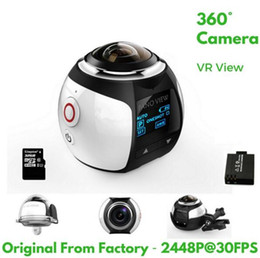 $enCountryForm.capitalKeyWord NZ - Free shipping 4K 360 Degree Action Video Camera Wifi Mini 2448*2448 16MP Ultra HD Panorama Camera 3D Waterproof Sport Driving VR Camera