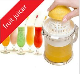 Citrus juiCe press online shopping - High quality Manual Press Fruit Juicer Mini Orange Lemon Squeezers citrus limon Juice Maker for baby kids Kitchen Cooking Tools