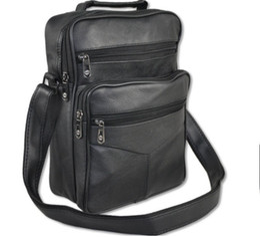 $enCountryForm.capitalKeyWord UK - Wholesale- HOT saling Fashion men messenger bags genuine leather bag brand men handbag casual belt bag molle men's travel bags