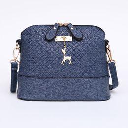 Chinese  2017 Women Messenger Bags Fashion Mini Bag With Deer Toy Shell Shape Bag Women Shoulder Bags free shipping manufacturers