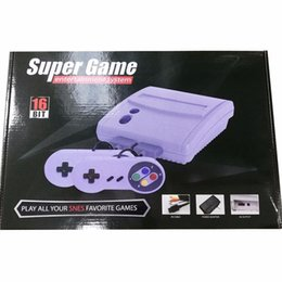 Ingrosso Console di gioco Super Mini SFC a 16 bit per SNES Super Game Free DHL