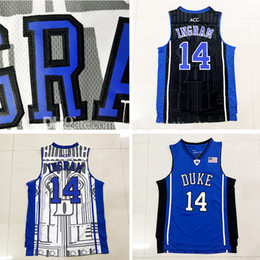 8b9fbc1c7 ... hot sale Duke Blue Devils 14 Brandon Ingram college basketball jerseys  100% Stitched 2016 New ...