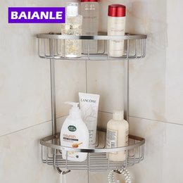 Bathroom Accessories Shelves double corner shelf online | double corner shelf for sale