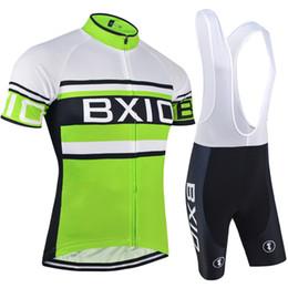 $enCountryForm.capitalKeyWord Canada - BXIO Brand Cycling Clothing Short Road Cycling Team Jerseys Cool Green Bike Wear Sets Fashion Anti Shrink Mountain Bike Jerseys BX-009