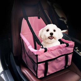 pad carriers NZ - Pet Carrier Dog Car Seat Pad Safe Carry House Cat Puppy Bag Car Travel Accessories Waterproof Dog Bag Basket Pet Products Dog Supplies