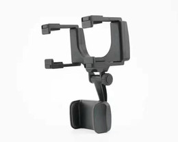 mirror mount phone holder Australia - 360 Rotating Car Mount Cell Phone Holder Car Rearview Rear View Mirror Mount Truck Auto For iphone GPS smartphone 11 xr