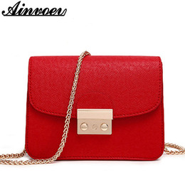 Small Handbags Sale NZ - Wholesale- Ainvoev Small Women Messenger Bag Clutch Bags Good Quality Mini Shoulder Bags Women Handbags Crossbody Bags Hot Sale hl8522