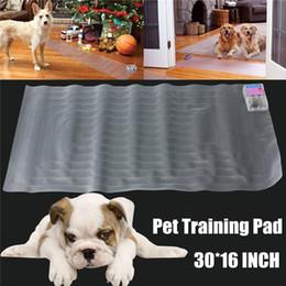 $enCountryForm.capitalKeyWord NZ - 30x16 Inch (76.5*40.5 cm) Electronic Pet Training Dog Cat Barrier Repellent Shock Scat Mat Pad Pets Magisterium Products