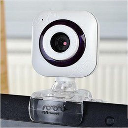 China Camera Mega Canada - New Design USB Webcam with LED Lights Metal Computer Webcam Web Cam Camera MIC for PC