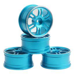 $enCountryForm.capitalKeyWord Canada - RC Aluminum Wheel 4pc D:52mm W:26mm Fit HSP 1:10 On-Road Drift Car Rim 102039B