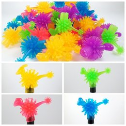 Pen multicolor online shopping - Dinosaur Pen Cap Multicolor Finger Sets Dolls Can Be Installed Twist Toy TPR Eco Friendly Material Hot Sale gy I1