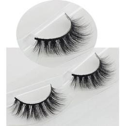 $enCountryForm.capitalKeyWord Canada - Mink False Eyelashes 1 Box 1 Pair Packing Natural Long Crisscross Messy Thick Soft Realistic Fake Eyelashes Makeup Lashes