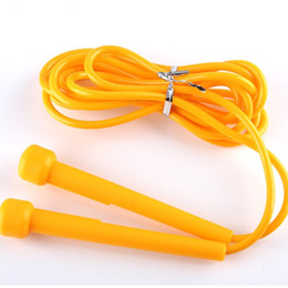 Fitness handles online shopping - Plastic Jump Ropes Student Special Purpose Rope Skipping Plastic Handle PVC Fitness Equipment Cord Special For Children Hot Sell td J