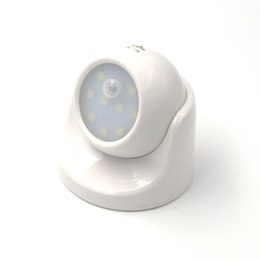 Motion detector ir online shopping - lamp beads LED Wall lights Wireless Motion Sensor Night Light Auto PIR IR Infrared Detector Security Lamp AAA