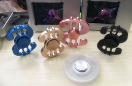 Discount tri spinner fidget toy - US dollars Aluminum alloy Hand Fidget Spinner Toy EDC Tri-Spinner Fidget Toys Spinner Kids Adult Anti Stress Decompressi