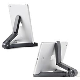 $enCountryForm.capitalKeyWord NZ - Universal Portable Fold-Up Stand Adjustable Bracket For Smart Phone Kindle Galaxy Tab Tablet PC iPad 7 to 10 inch
