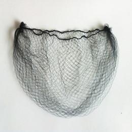 Barato Ultrafino Invisível Elastic Hair Net Peruca de Malha / Peruca / Extensão Do Cabelo de Proteção Hairnet Cor Preta 6-50 polegada 100 pçslote venda por atacado