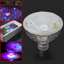 Venta Al Por Mayor Luces De Baño De Spa Baratos-Venta al por mayor-Color cambiante LED brillante subacuático Luz Lamb Show Piscina Disco Party Spa baño Jardín estanque luces impermeables