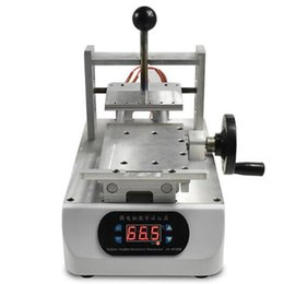 China M-Triangel Manual OCA Glue Removing Machine Polarizer Remover for Mobile Phone LCD Screen Repair Refurbish with Molds supplier repair lcd phone screen machine suppliers