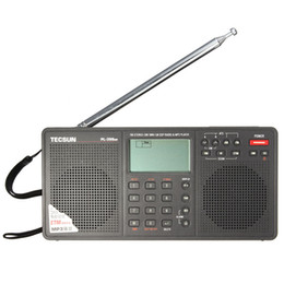 $enCountryForm.capitalKeyWord Canada - Wholesale-PL-398MP FM Stereo SW MW LW DSP World for Band Radio MP3 Player Black with Earphone SD Card Slot