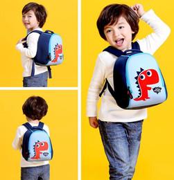 Discount dog rabbits - School Bag Waterproof Cartoon Children Backpack Kindergarten Bag Dog Rabbit Dinosaur School Bags Girls Boys Neoprene Ani