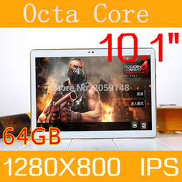 tablet octa core gps NZ - Wholesale- 10.1 inch Octa Core 4G LTE Tablet Android 6.0 RAM 4GB ROM 64GB 5.0MP Dual SIM Card Bluetooth GPS Tablets 10 inch tablet pc
