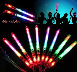 Wholesale LED Color Flash Mode Neon Stick Light Glow Stick Festival Evening Party Christmas Party festival Camp novelty toys