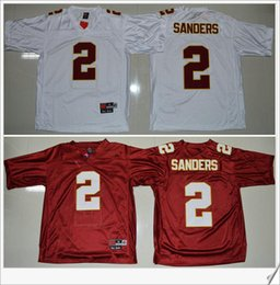 innovative design 89b27 b3a7c official store florida state seminoles 2 deion sanders white ...