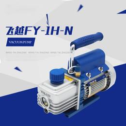 High Pressure Air Compressors Canada - Value FY-1H-N Mini Air Ultimate Vacuum Pump 220V Air Compressor LCD Separator Laminating Machine HVAC Refrigeration Repair Tools