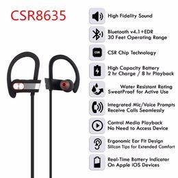 $enCountryForm.capitalKeyWord NZ - Bluetooth 4.1 +EDR Wireless Stereo Earphone Earbuds Sports Headset Headphone with Microphone CSR8635 BLuetooth Headphon